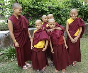 new-nuns-from-nepal-with-their-teacher